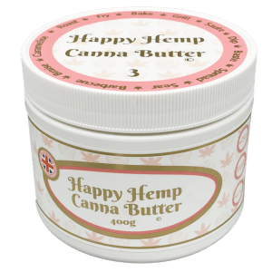 Happy Hemp Canna Butter Strength Three
